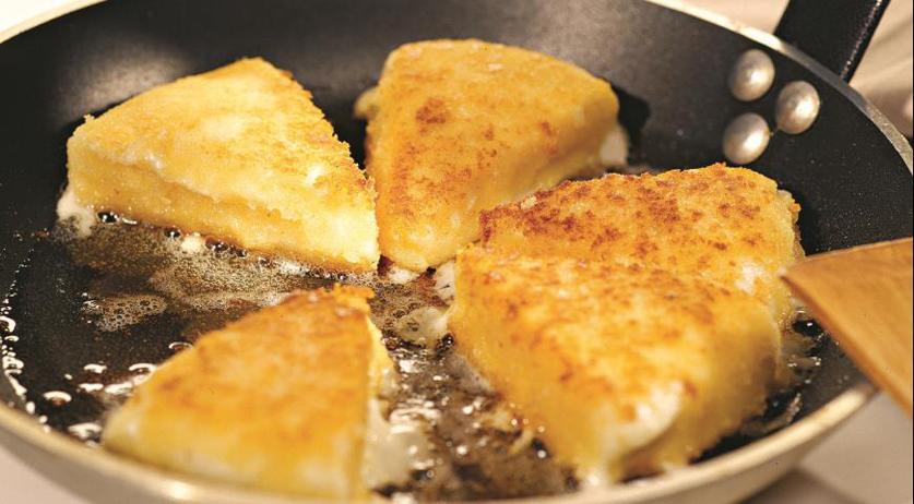 Жареный сулугуни сыр рецепт с пошагово